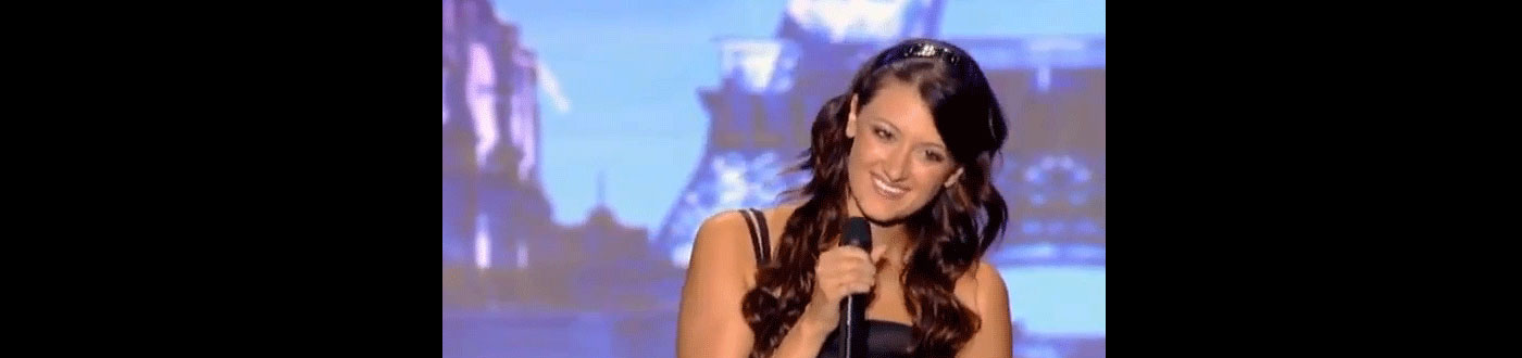 Rachel Apse Sings Death Metal on French Talent Show