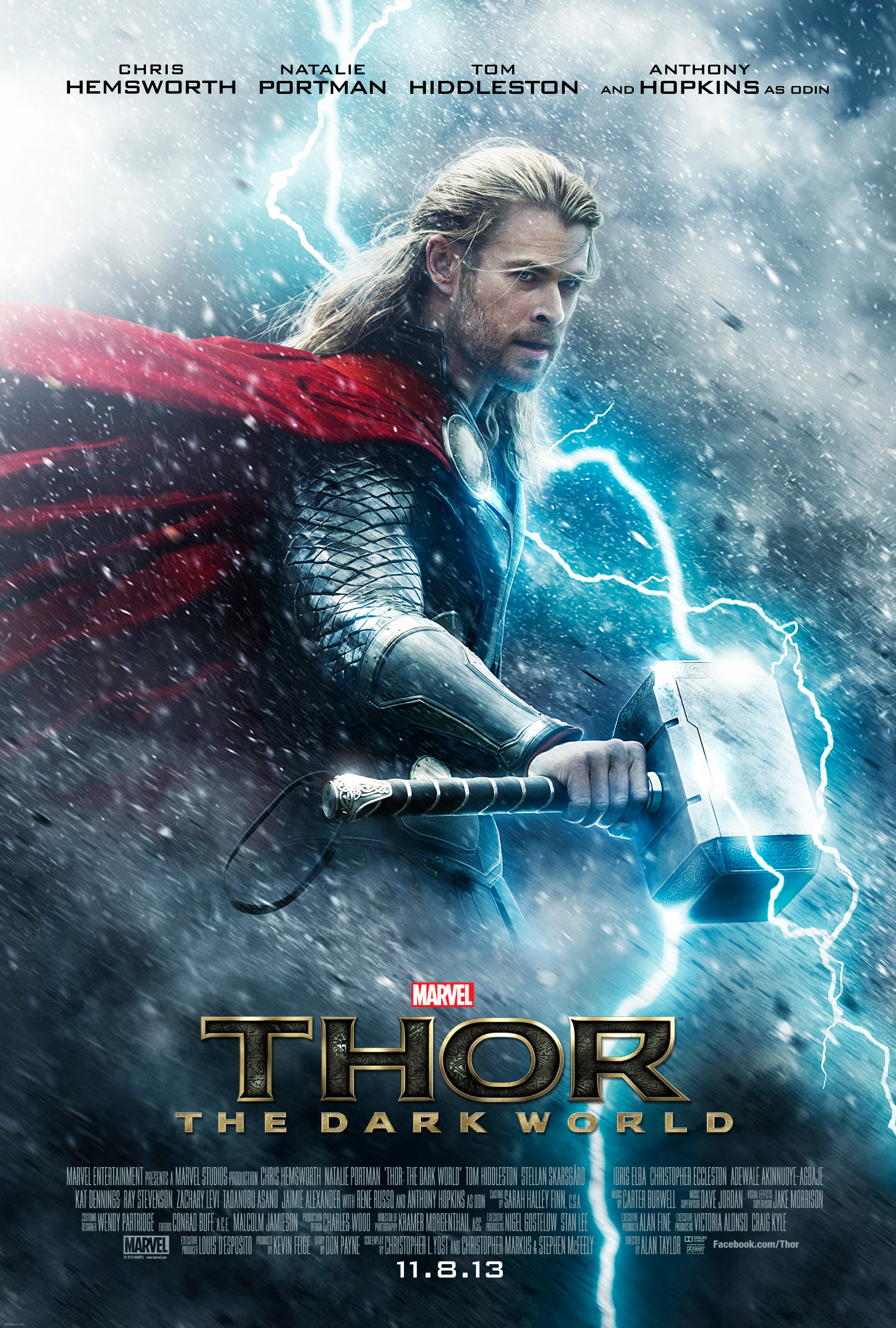Thor: The Dark World New Poster Released