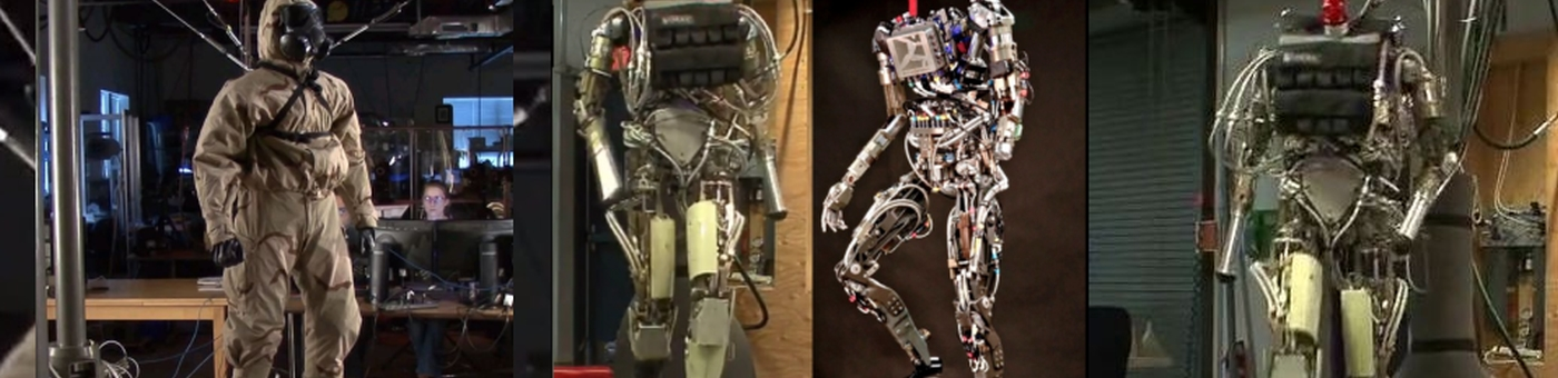 "Most human-like robot yet, DARPA's ""PETMAN"""