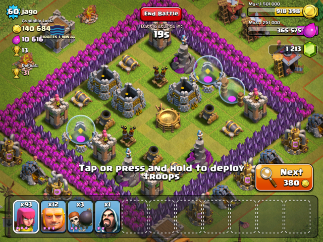 Clash of Clans, a Fun and Highly Addictive Game