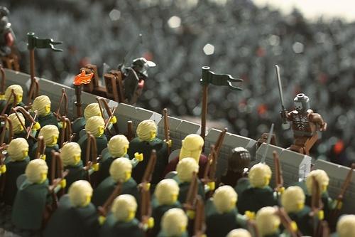 Helms Deep LEGO 2