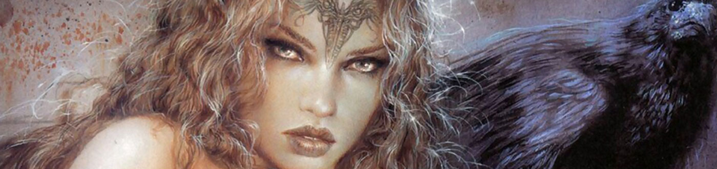 Luis Royo, our Featured Artist of the Month