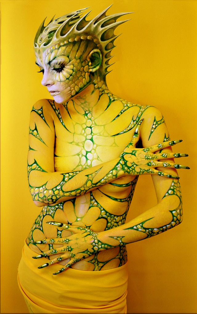 body paint aliens 4