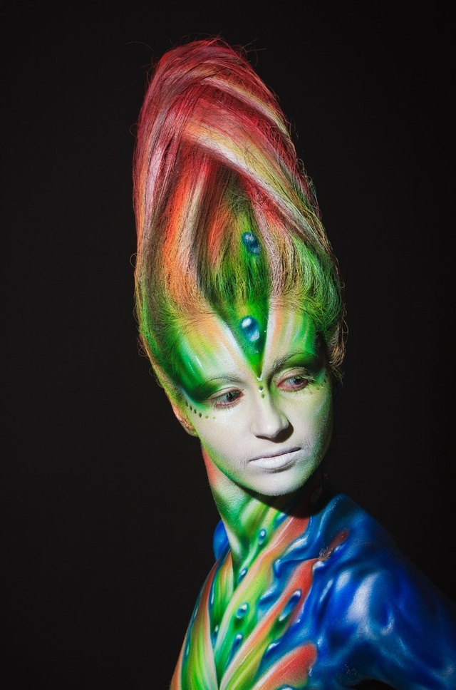body paint aliens 5