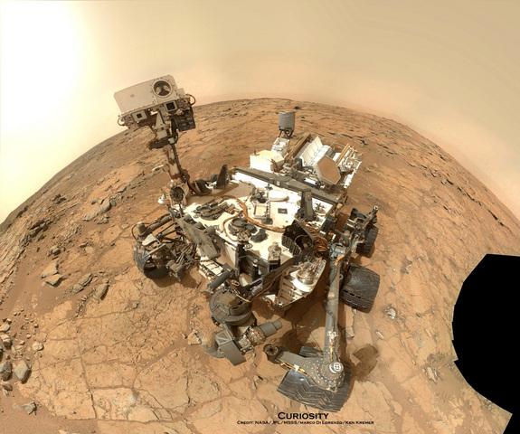 Mars Rover hits a snag