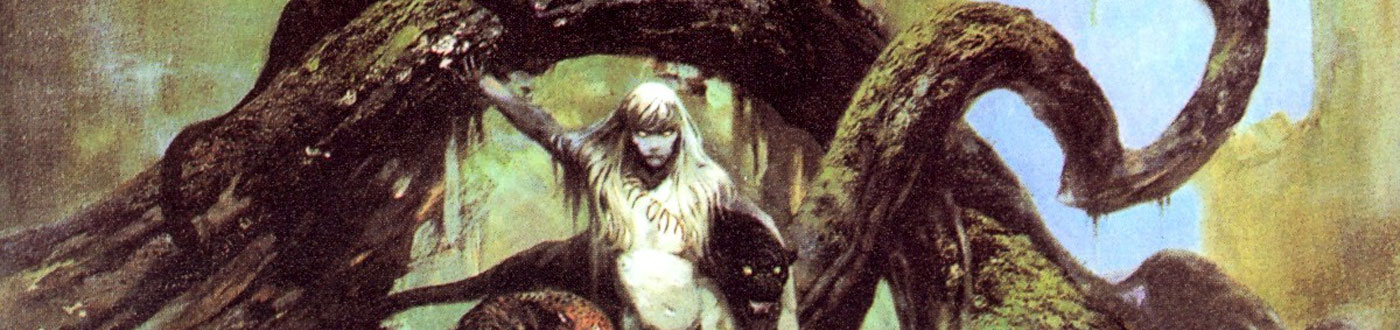 Frank Frazetta, our Featured Artist of the Month