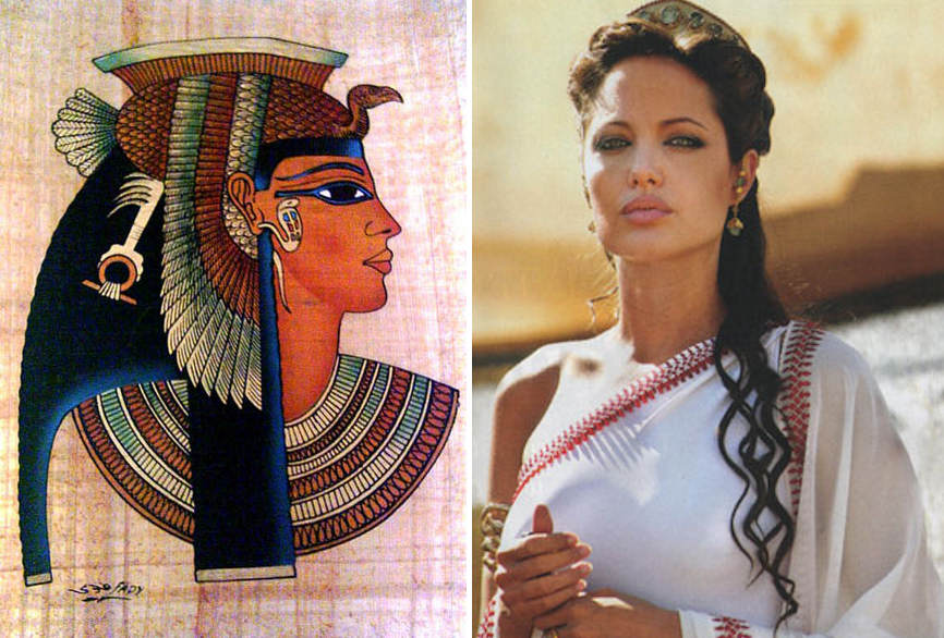 Angelina Jolie in Cleopatra