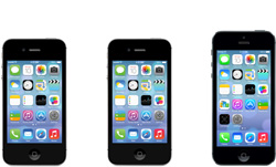 iPhone 4, 4S and 5
