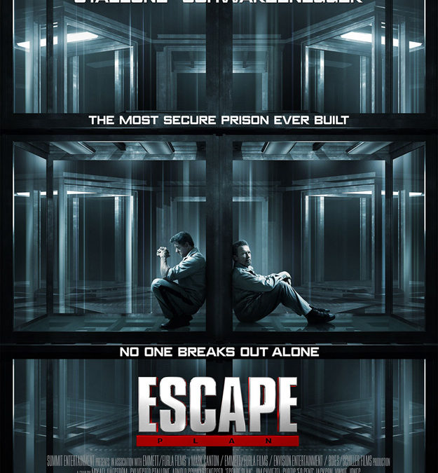 Stallone and Schwartzenegger together in Escape Plan