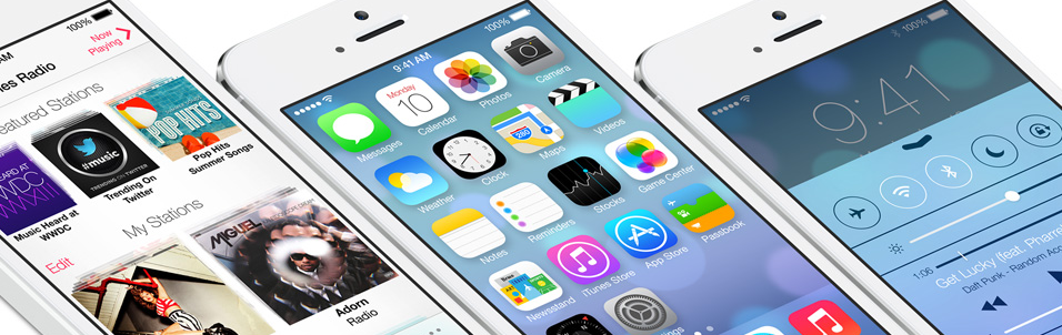10 Best Things about the new Apple iOS 7