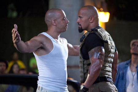 Vin Diesel vs The Rock