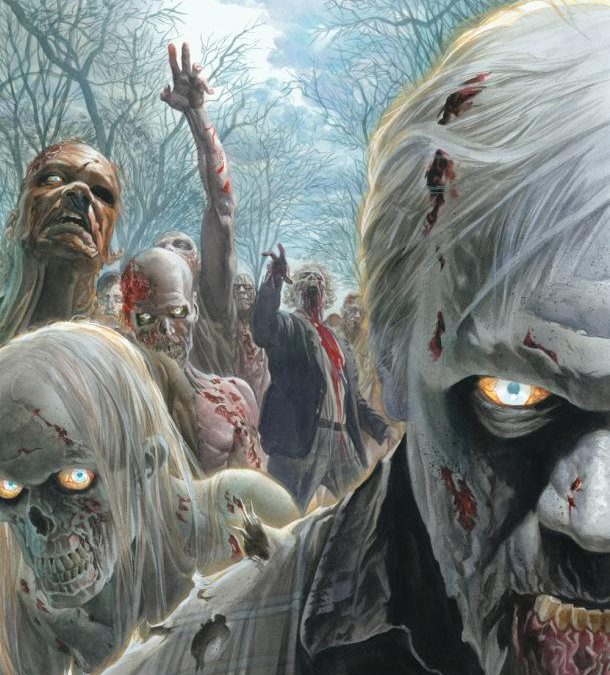 """The Walking Dead"" Comic Con Poster done by Alex Ross"