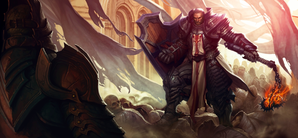 Diablo III Crusader Wallpaper