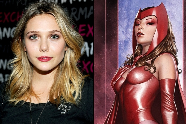 Elizabeth Olsen Officially Joins 'Avengers: Age of Ultron' Cast