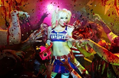 Jessica nigri as lollipop chainsaws
