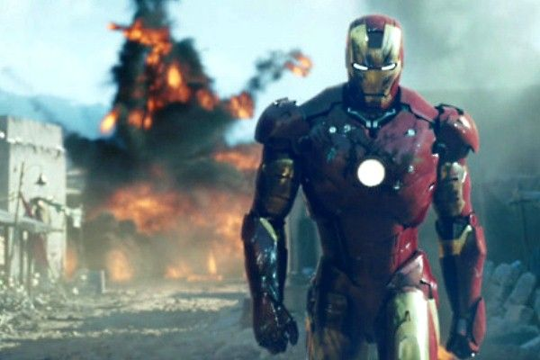 Iron man - Cool guys walking away from explosions