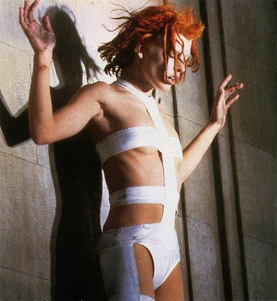 Milla Jovocich as Leeloo