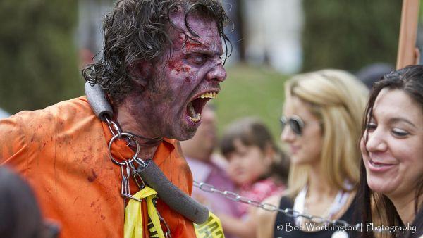 Zombie Walk at Comic-Con 2013