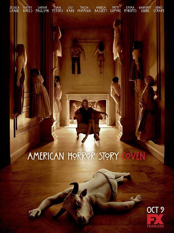 """American Horror Story: Coven"" promotional poster"