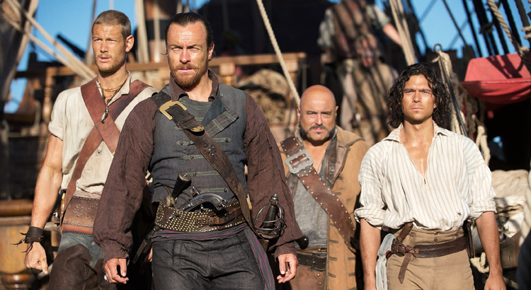 We have the first trailer for the Pirate Series Black Sails