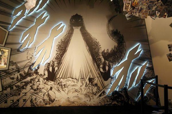 Comic Con 2013 Godzilla Concept Art