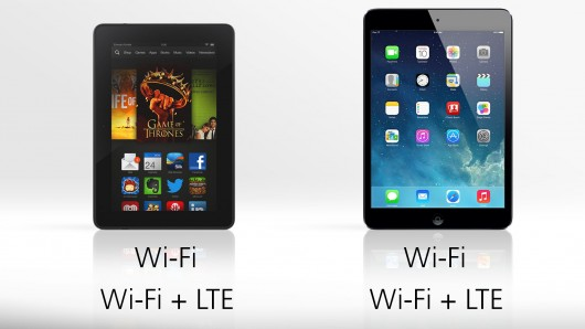 Differences Between iPad and Kindle Fire