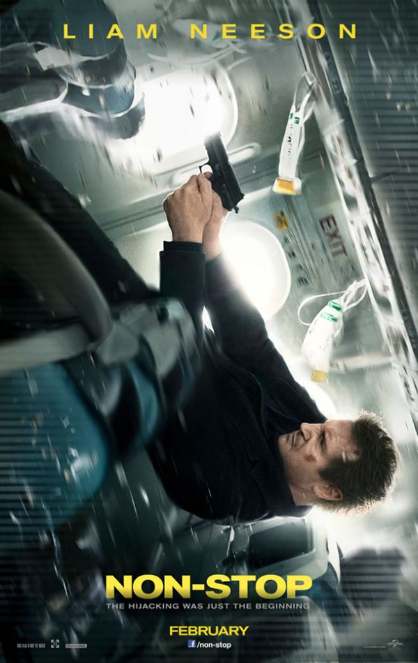First Trailer for Liam Neeson Action-Thriller 'Non Stop'