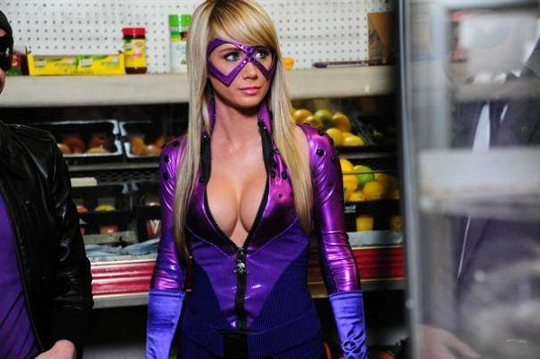 "Cosplay Girl Sara Underwood is ""Superheroine"" Bustice"
