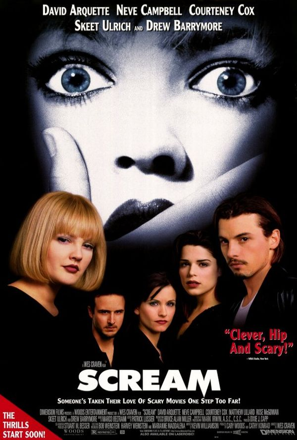 Scream has been credited with revitalizing the horror genre in the late 90s