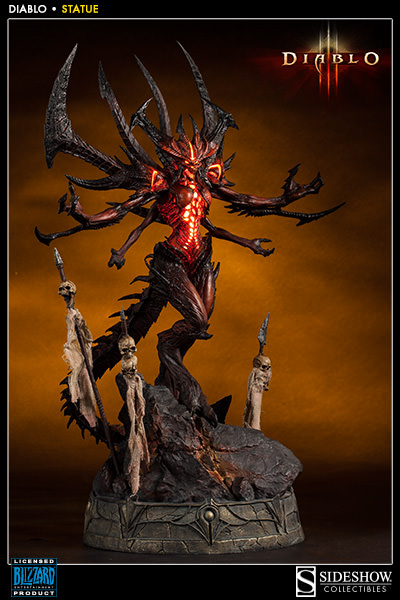 The Most Impressive Must Have Collectible 'Diablo' Statue Ever!