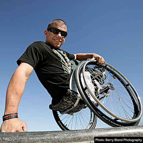 Extreme Wheelchairing by Aaron Wheelz Fotheringham