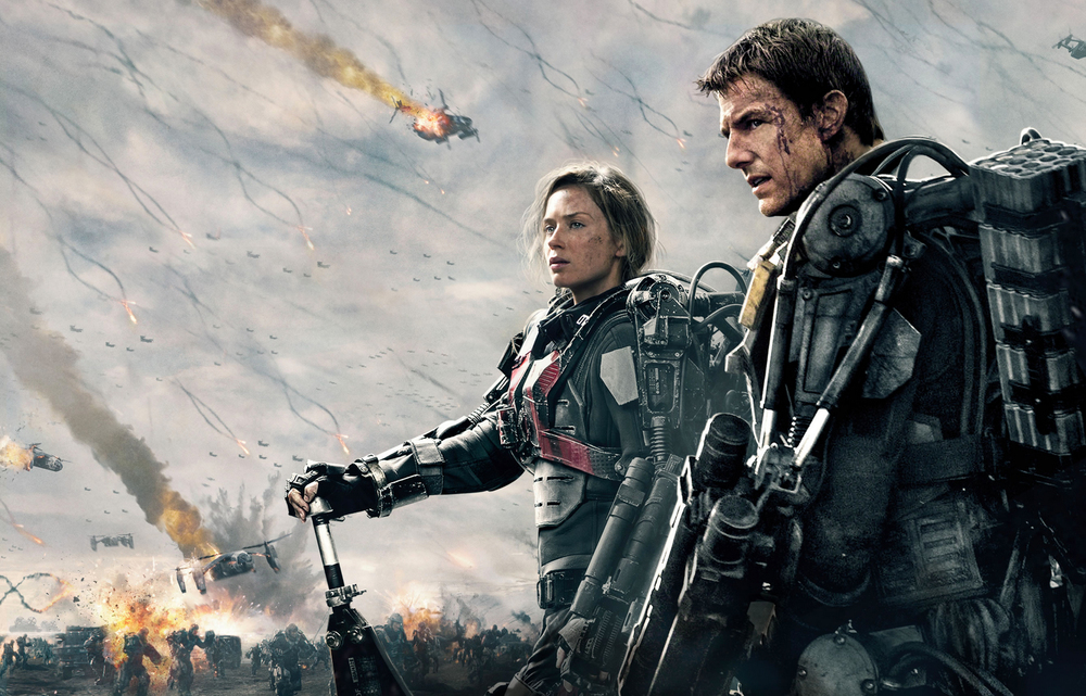 Action Packed Trailer for Edge of Tomorrow starring Tom Cruise and Emily Blunt
