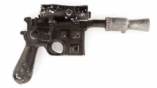 Han Solo DL-44 Blaster Sells for $200 000