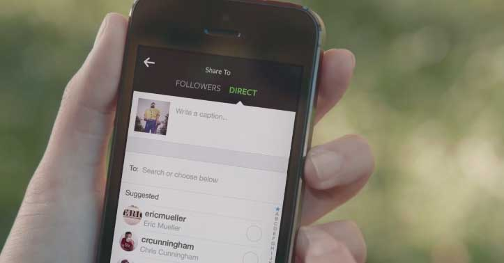 New Instagram Direct Update – Send Private Photos to Specific People