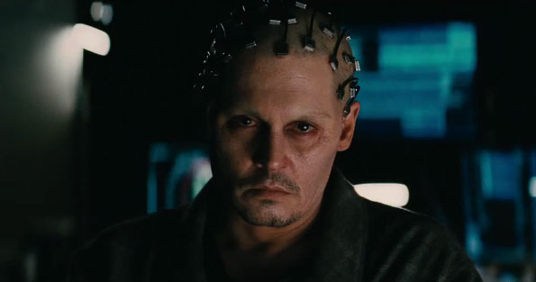 Full Trailer for Johnny Depp in Sci-Fi Thriller ...
