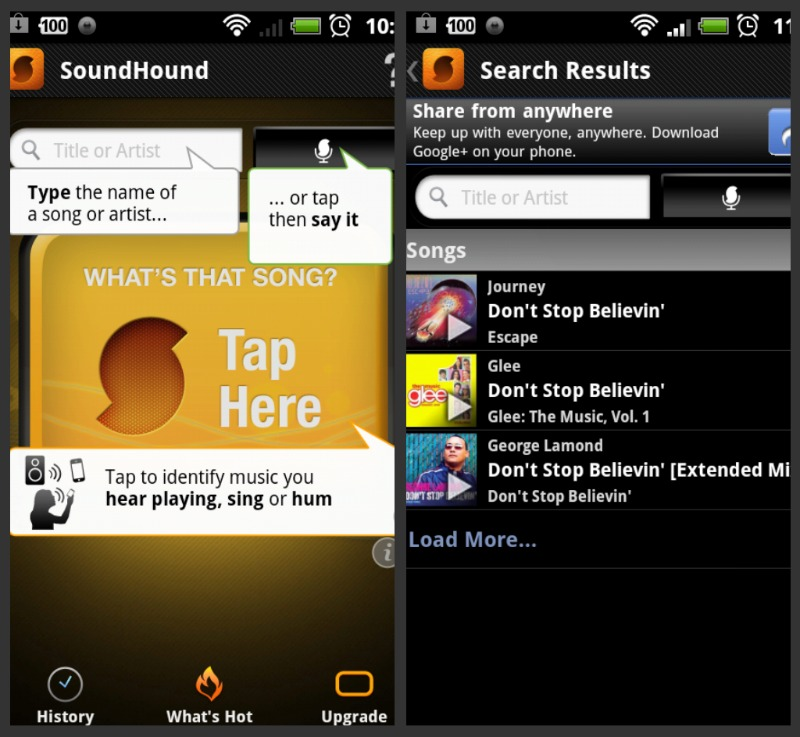 SoundHound_landing_search