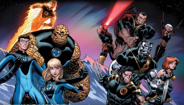 Fox Reportedly Planning Fantastic Four vs. X-Men Movie