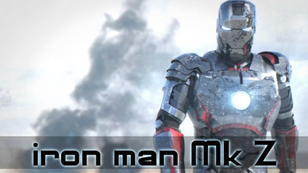 Video: Iron Man Animation Eye Candy
