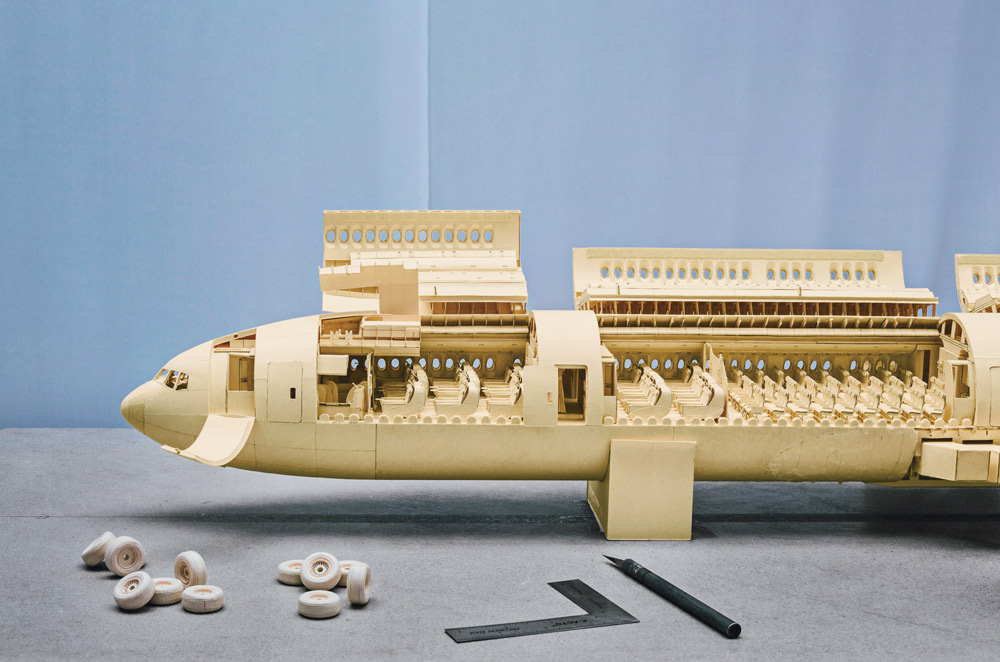 Boeing 777 Paper Plane 1