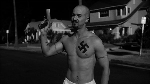 Controversial Cut Scene: American History X Curb Stomp ...