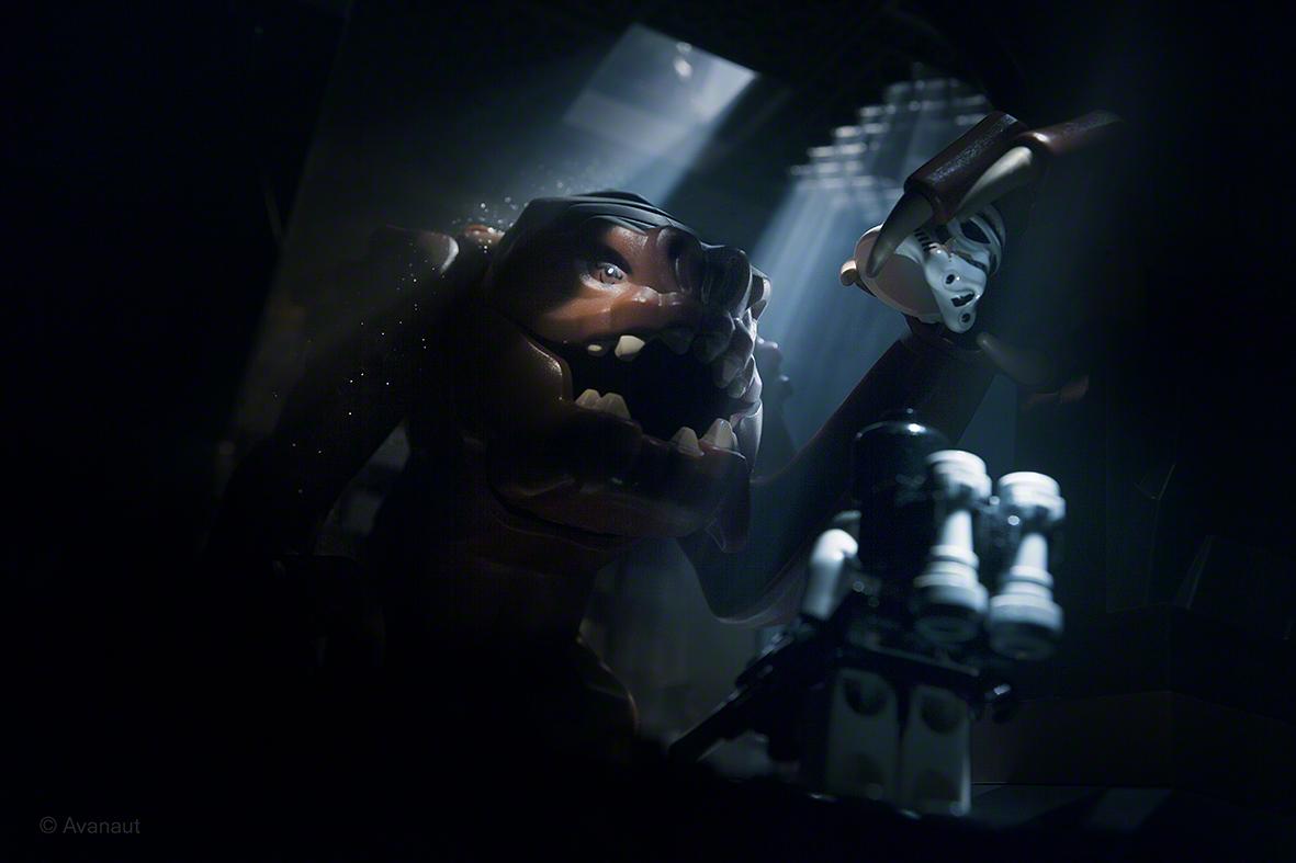 Star Wars - Rancor Pit!