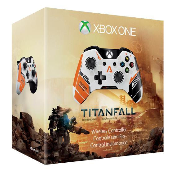 Packaged with the new Titalfall is the limited Edition Titanfall XBox One Controller