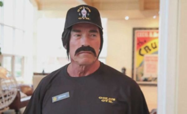Video: Arnold Schwarzenegger Goes Undercover at Gold's Gym