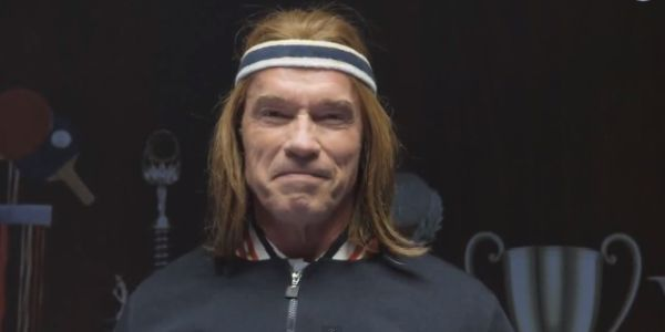 Teasers: Bud Light Super Bowl Ad features Blonde Arnold Schwarzenegger