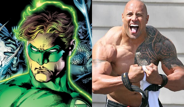 Will Dwayne 'The Rock' Johnson Play the Green Lantern in 'Man of Steel 2'?