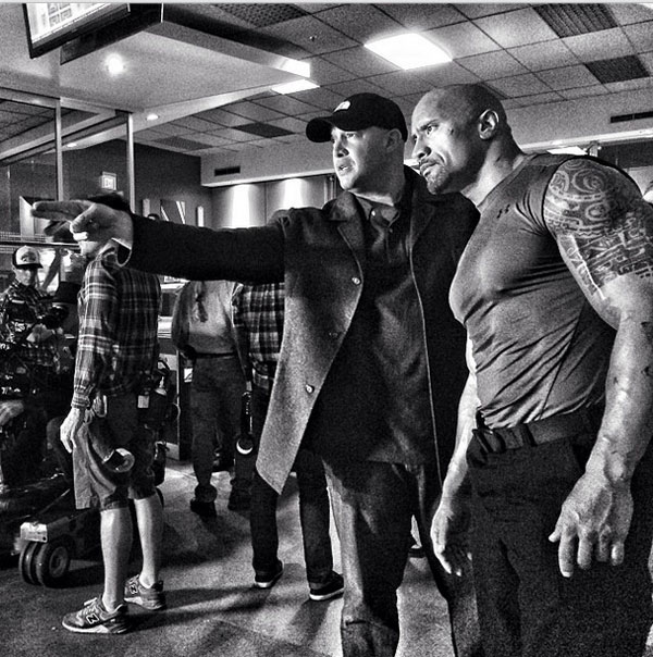 The Rock Teases His Role As Green Lantern in Batman vs. Superman