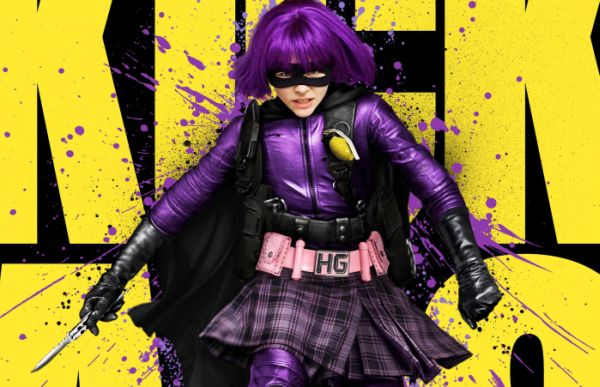 Hit-girl - Chloë Grace Moretz - Kick Ass
