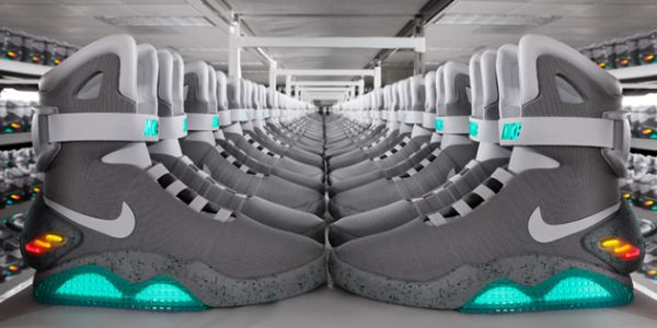 Nike Still On Track For 2015 Back To The Future Power Lace Sneakers Release