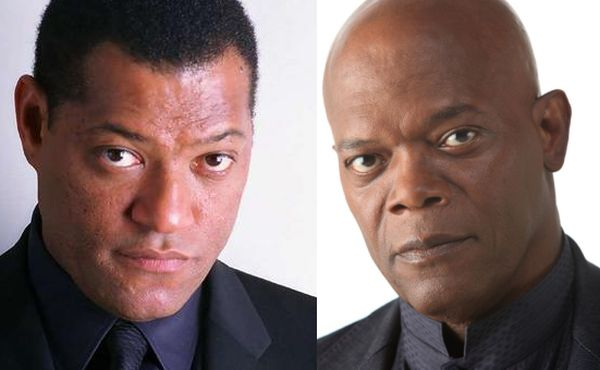 Laurence Fishburne and Samuel L. Jackson