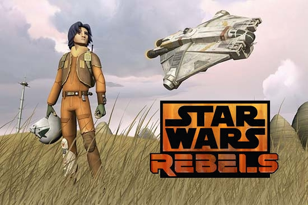 Animated Series 'Star Wars Rebels' First Teasers Lands Online
